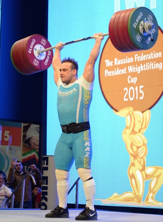 Ilya Ilyin bodylifting